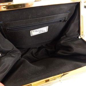 Vintage Bags - Vintage 60s Naturalizer Black & White Purse